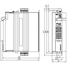 SEW-Eurodrive MDX61B 380В 1.1 кВт