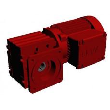 WAF20DR63L4 Мотор-редуктор Spiroplan Р=250Вт, 80об/мин, полный вал 20мм, фланец 120мм