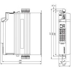 SEW-Eurodrive MDX61B 380В 0.55 кВт
