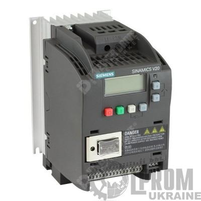 Частотный преобразователь Siemens V20 6SL3210-5BB21-1UV0 220В 1.1 кВт