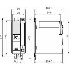 SEW-Eurodrive MC07 380В 0.75 кВт