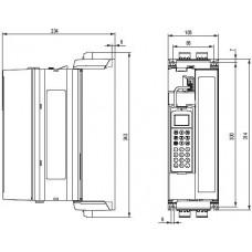 SEW-Eurodrive MDX61B 380В 1.5 кВт