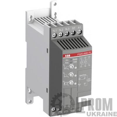 Устройство плавного пуска ABB PSR 1,5 кВт 3,9 А Uупр AC 240 В PSR3-600-70