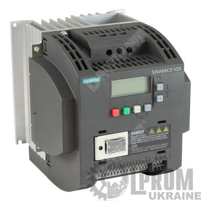 Частотный преобразователь Siemens V20 6SL3210-5BB23-0UV0 220В 3 кВт