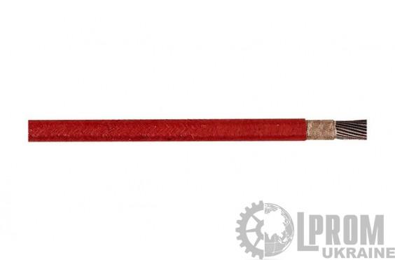 Термостойкие одножильные провода с изоляцией из стекловолокна (свыше +260 °C)