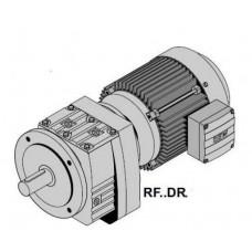 R57DRS90L4+RF..DR Цилиндр.мотор-редуктор Р=2,2кВт, 75об/мин, цельный вал 35x70мм, фланец 200мм