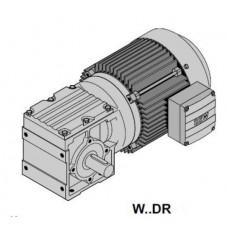 W47DRS80M4 Мотор-редуктор Spiroplan Р=1,1кВт, 75об/мин, крепление на лапах цельный вал 30x40мм