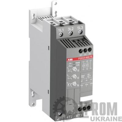 Устройство плавного пуска ABB PSR 11 кВт 25 А Uупр AC 240 В PSR25-600-70