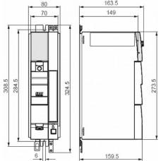SEW-Eurodrive MC07 380В 1.1 кВт